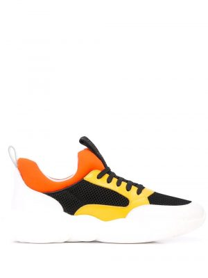 Baskets baskets Teddy jaune orange