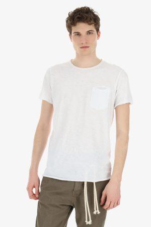 Imperial Men t-shirt col rond poche poitrine