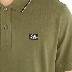 CP Company polo classique vert