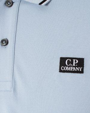 CP Company polo classique blanc bleu