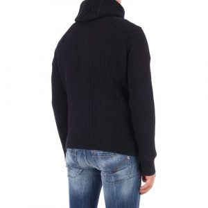 Men pull à capuche zippé