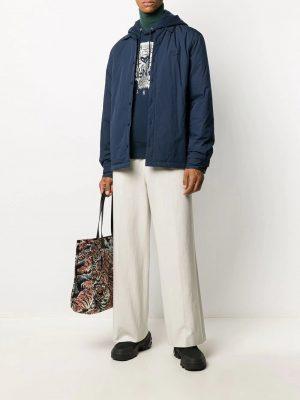 Kenzo veste zippée à détail de patch