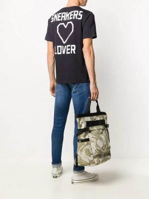 Golden Goose t-shirt à imprimé Sneakers Lover