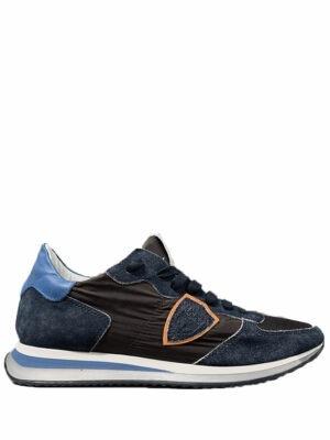 Baskets mondial low-top sneakers bleu/marron