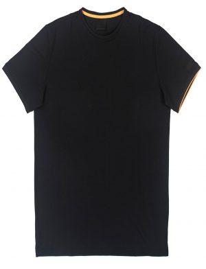 Men t-shirt macro noir