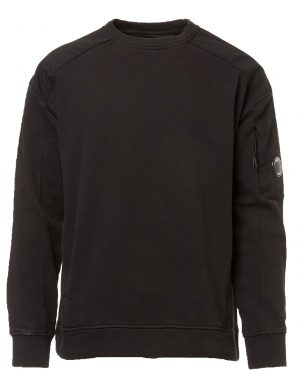CP Company pull à patch logo noir
