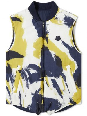 Kenzo gilet camouflage réversible