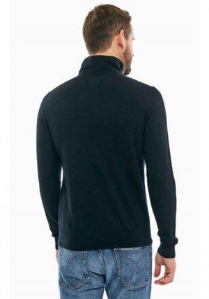 Lagerfeld pull demi-zippé pour homme
