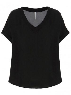 Hauts t-shirt oversize en crêpe