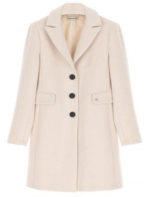 Manteaux Manteau cintré avec revers en pointe