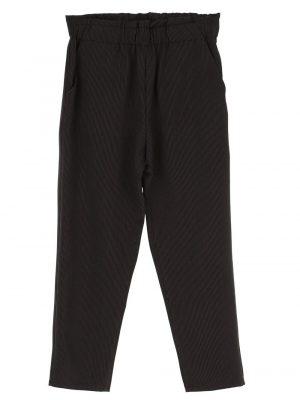 Pantalons Pantalon à rayures fines avec ceinture extensible