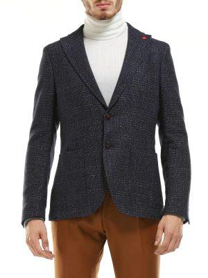 Braderie veste non doublée à carreaux
