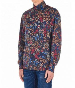 Braderie chemise à imprimé floral