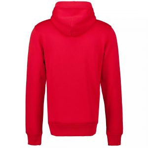 Gant sweat à capuche archive shield rouge