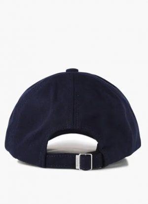 Accessoires casquette brodée en laine mélangée Bleu