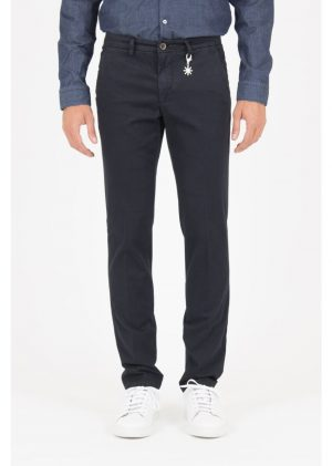 Braderie pantalon slim en coton stretch