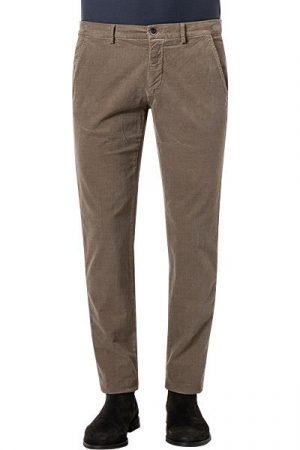 Mason's pantalon chino en coton marron