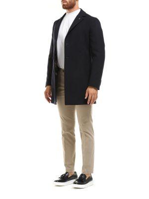 Braderie manteau en laine mélangée