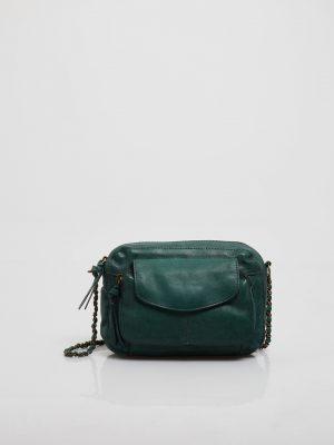 Accessoires Petit sac bandoulière en cuir PIECES