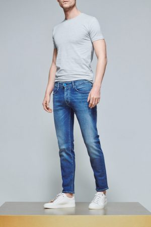 ACE Denim Jeans AD 03 Medium Stone Blue