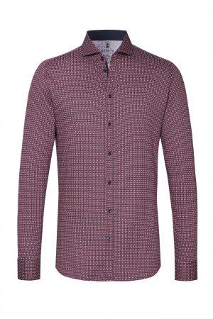 Braderie chemise new hai cercles rouges