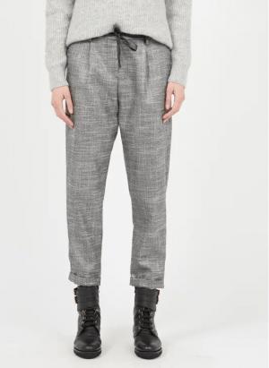 Pantalons Pantalon droit irisé Argent