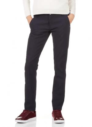 Pantalons PLEASE Pantalon slim taille normale Bleu