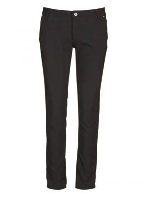 Pantalons PLEASE Pantalon slim taille normale Noir
