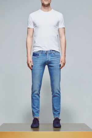 ACE Denim AD 31 Denim léger – Light Stone/ Blanc