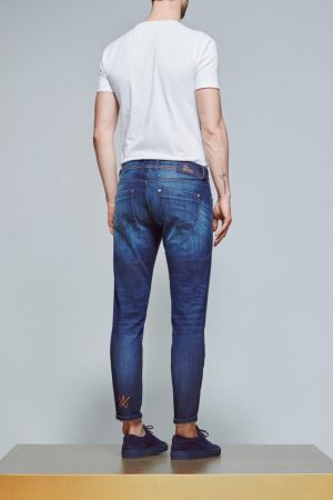 ACE Denim AD 23 Denim léger – Dark Stone / Orange