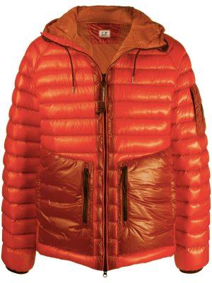 CP Company veste matelassée DD shell orange