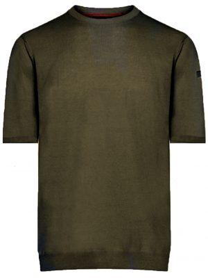 Men t-shirt en coton