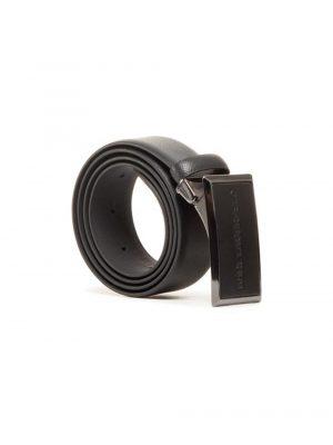 Accessoires ceinture en cuir noir