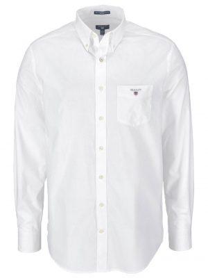 Chemises chemise regular fit en popeline de coton