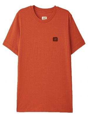CP Company t-shirt à manches courtes avec patch logo poitrine