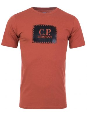 CP Company t-shirt à manches courtes avec logo