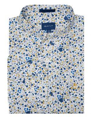Braderie chemise imprimé branches de ville
