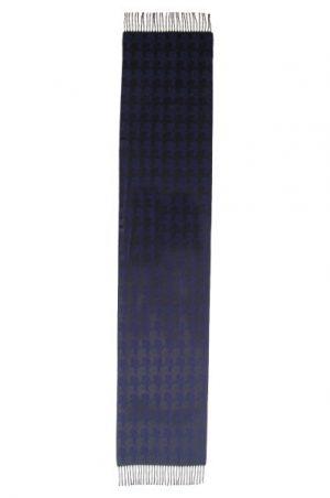 Accessoires châle en laine marine