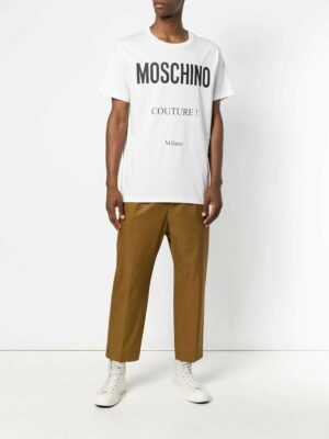 Men T-shirt à imprimé Moschino Couture