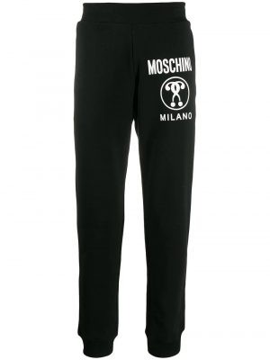 Men pantalon de jogging à logo