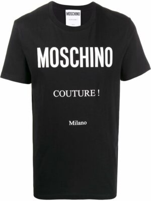 Men t-shirt Couture à logo
