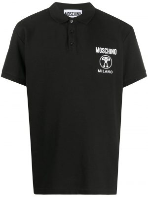 Men polo Double Question Mark