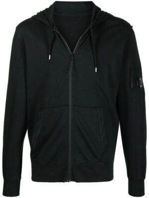 CP Company hoodie zippé à patch logo