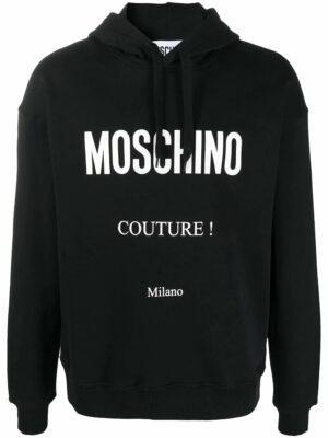 Men hoodie à logo imprimé