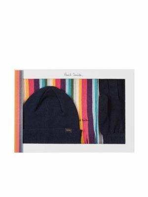 Casquettes & bonnets Coffret Cadeau 'Artist Stripe' Bleu Marine Foncé