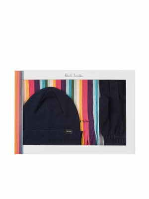 Braderie Coffret Cadeau 'Artist Stripe' Bleu Marine Foncé