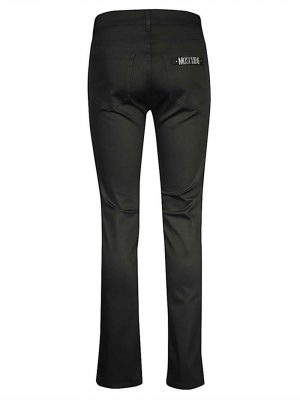 Jeans jean à coupe droite noir