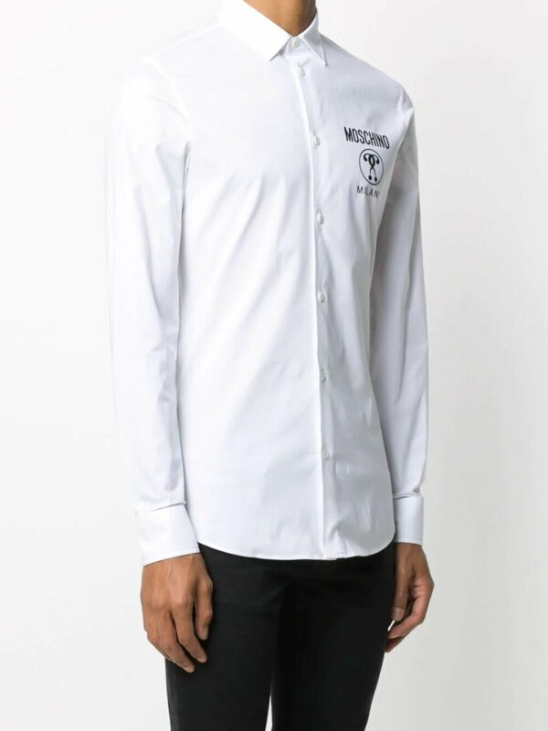 Chemises chemise à logo poitrine