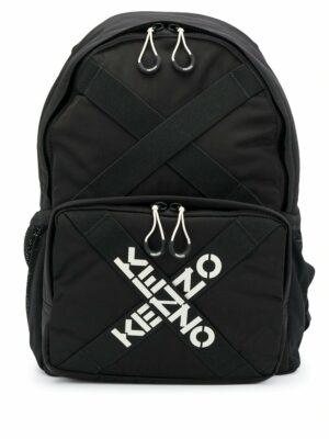 Kenzo sac à dos à bandes logo