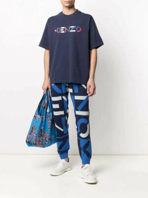 Kenzo t-shirt manches courtes à logo imprimé